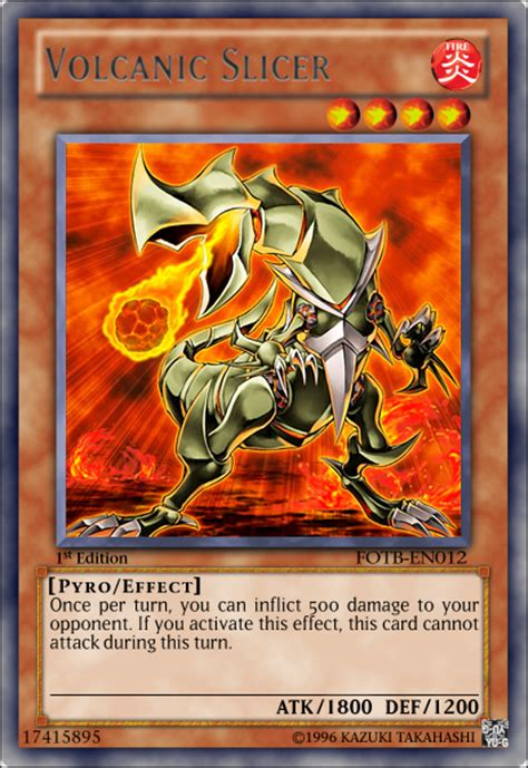 Yugioh Volcanic Deck 2016 by Volcanic Slicer By Cardhunter On Deviantart