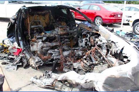 Tesla Model S Crash by Tesla Battery Reignited After Fatal Crash In Florida