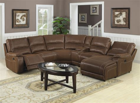 coffee table for sectional sofa with chaise chocolate brown leather reclining sofa with chaise and