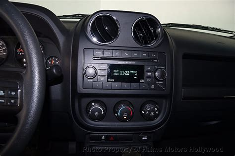 jeep patriot 2016 interior 2016 used jeep patriot fwd 4dr sport at haims motors
