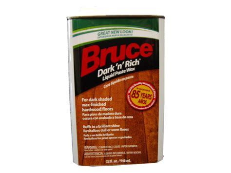 bruce floor wax bruce hardwood floors w105 32oz dark n rich wood wax ebay