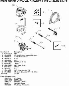 Generac Pressure Washer Model 020214 Replacement Parts
