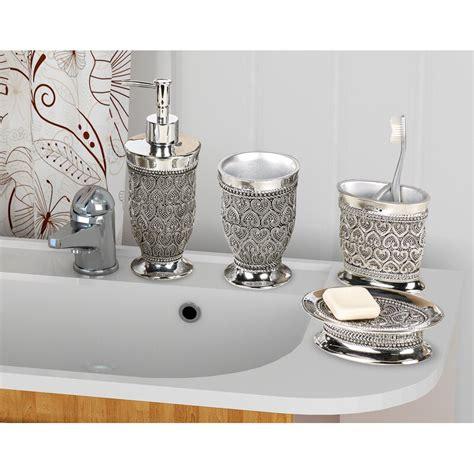 rosdorf park mercado  piece bathroom accessory set
