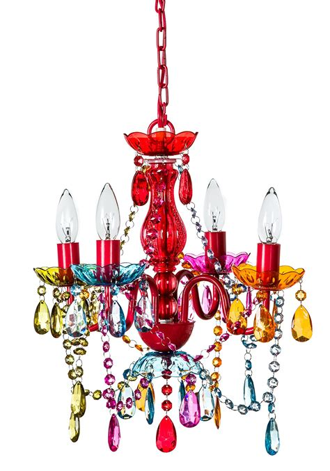 colored chandelier multi colored plastic chandelier chandelier design ideas