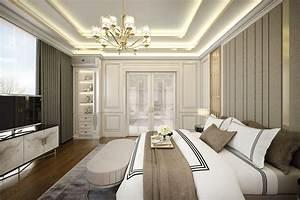 Contemporary, Classic, Bedroom, 3d, Model, Skp