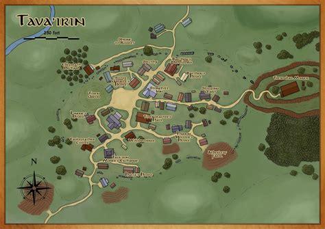 town map    dd campaign critique