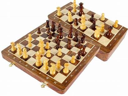 Magnetic Chess Travel Board Folding Sets Pieces