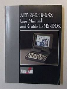 Amstrad Alt286  386sx User Manual And Guide By