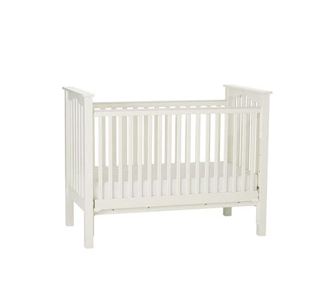 pottery barn crib tutu style baby room