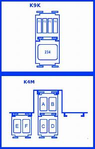 Renault Megane 2003 Engine Interconnection Unit Fuse Box    Block Circuit Breaker Diagram
