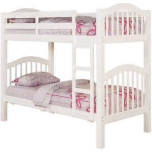 acme heartland twin over twin bunk bed with trundle white