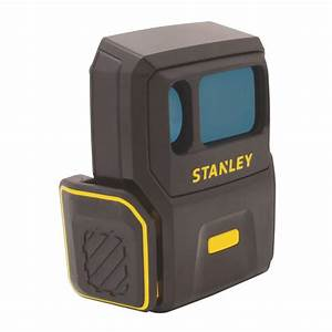 shop stanley 450 ft indoor outdoor laser distance measurer With floor level measuring device
