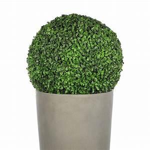 Boule De Buis : boule de buis artificielle 35 cm vert fonc maison fut e ~ Melissatoandfro.com Idées de Décoration