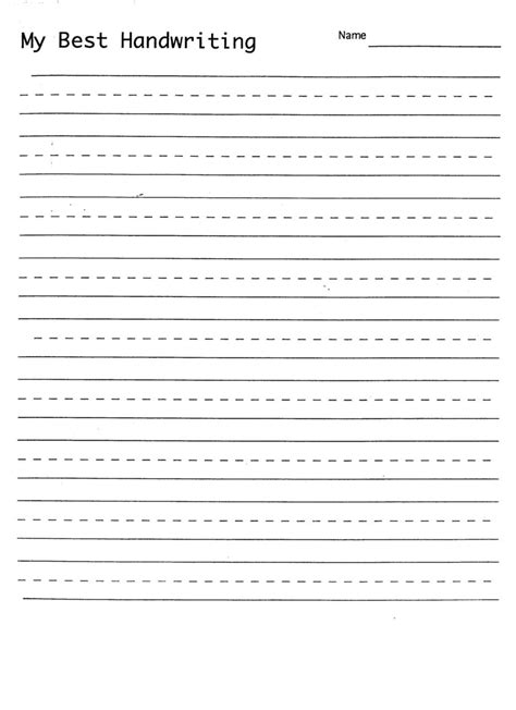 blank handwriting worksheets writing alistairtheoptimist