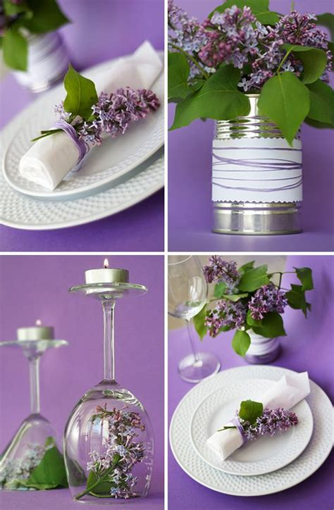 Lilac Decorations Wedding Tables - 23 adorable lilac decorations table decorations lilacs