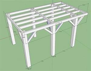 plan pour terrasse en bois sur pilotis images projets a With terrasse bois pilotis plan