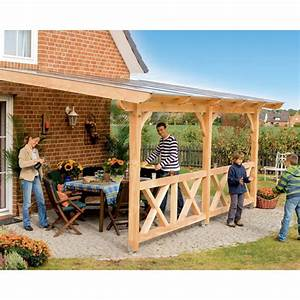 Terrassenüberdachung Holz Freistehend : skan holz terrassen berdachung rimini 541cm skanholz ~ Frokenaadalensverden.com Haus und Dekorationen