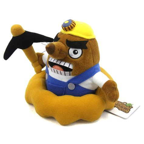 animal crossing  plush  resetti san ei