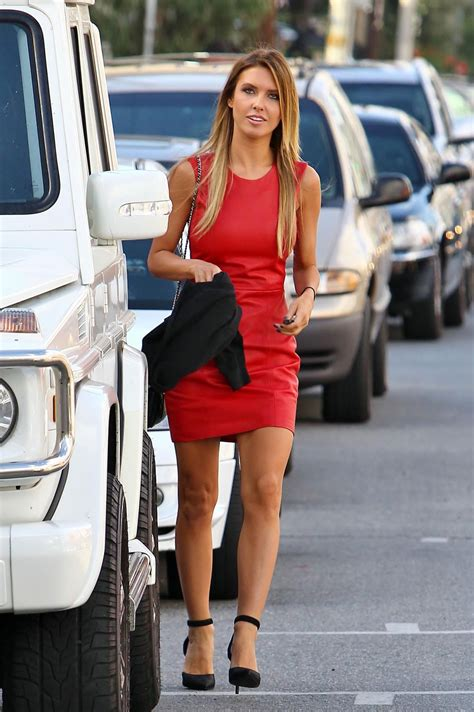 Audrina Patridge Street Style Los Angeles December