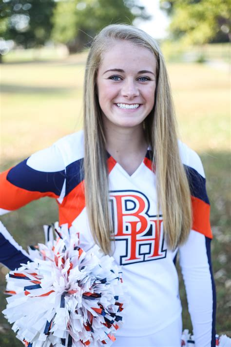 cheer  football portraits brook hill school tyler tx