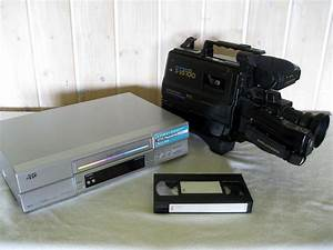 File Vhs Recorder  Camera And Cassette Jpg