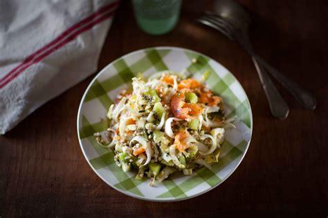 comment cuisiner des endives salade de sarrasin endives truite fumée et kiwi