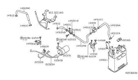 2006 Nissan Pathfinder Engine Diagram by 2005 Nissan Pathfinder Engine Vacuum Piping