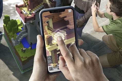 minecraft mobile app minecraft earth on preview the next big ar craze is