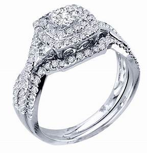 luxurious halo cheap diamond wedding ring set jeenjewels With cheap diamond wedding ring sets