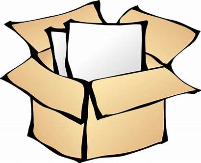 Package Clip Clipart Boxes Clker Vector Svg