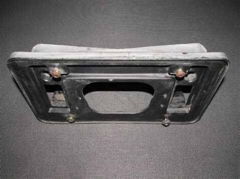 01 02 03 acura cl oem front license plate holder bracket autopartone