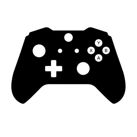 controller clipart black  white controller black