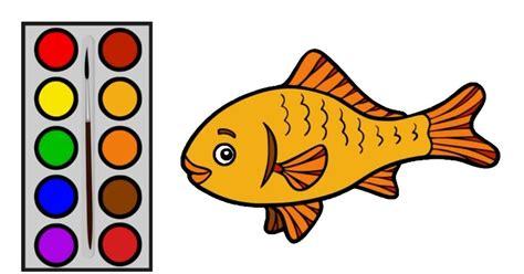 contoh gambar ilustrasi ikan hias