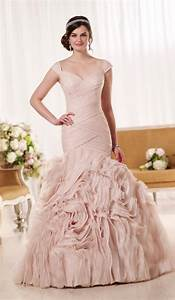 plus size pink wedding dresses pluslookeu collection With pink plus size wedding dresses