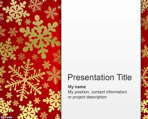 cold snowman powerpoint template
