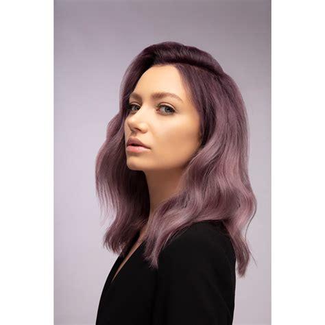 violet hair color formulas soft ashy violet behindthechair