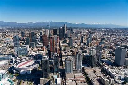 Downtown Los Angeles Urbanize 2010s Skyline