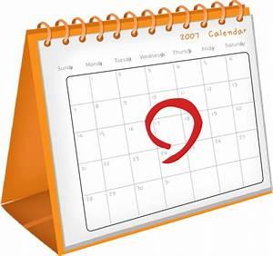 Calendar Date Clip Art at Clker.com - vector clip art ...