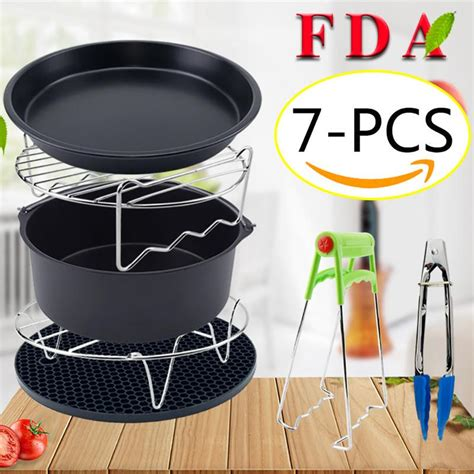 fryer air grill cooking tools pot electric kitchen fried parts