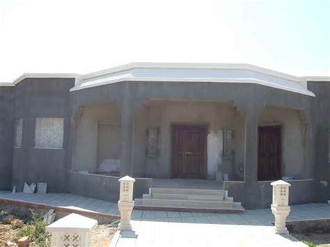 facade de porte cuisine villa neuve á hawaria zone urbaine route tunis vente villa à saheb jebel