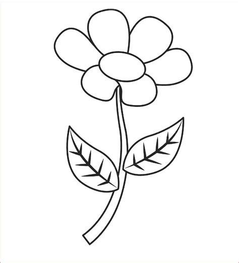 32 gambar lukisan bunga yang mudah ditiru