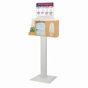 Bowman Cover Your Cough Compliance Kit  Stand  Hand