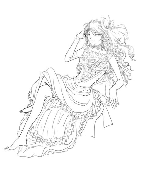 wallpaper update sketsa anime