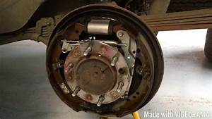 Rear Brake Service And Inspection On Toyota Hilux Mk6 Mk7 Vigo