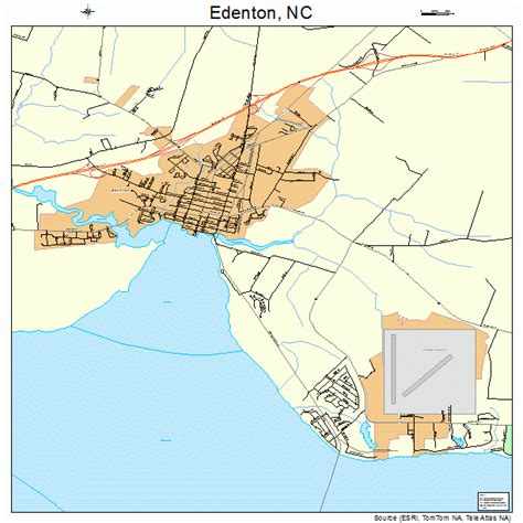 edenton carolina map 3720120