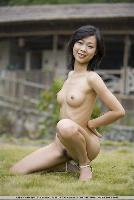 Sexy Chinese girl Abbie Chan show her treasures outdoor | Asian Sex