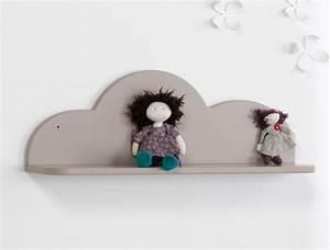 Etagere Murale Nuage : etag re lin nuage chambrekids ~ Teatrodelosmanantiales.com Idées de Décoration