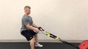 Eccentric-less Sled Pull Rows