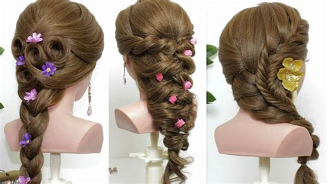 Easy Hairstyles For Hair by 3 Easy Hairstyles For Hair Tutorial