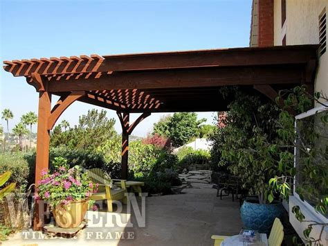 attached pergola gallery attached timber pergola images
